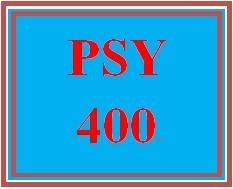 PSY 400 Week 5 Conflict Resolution Program