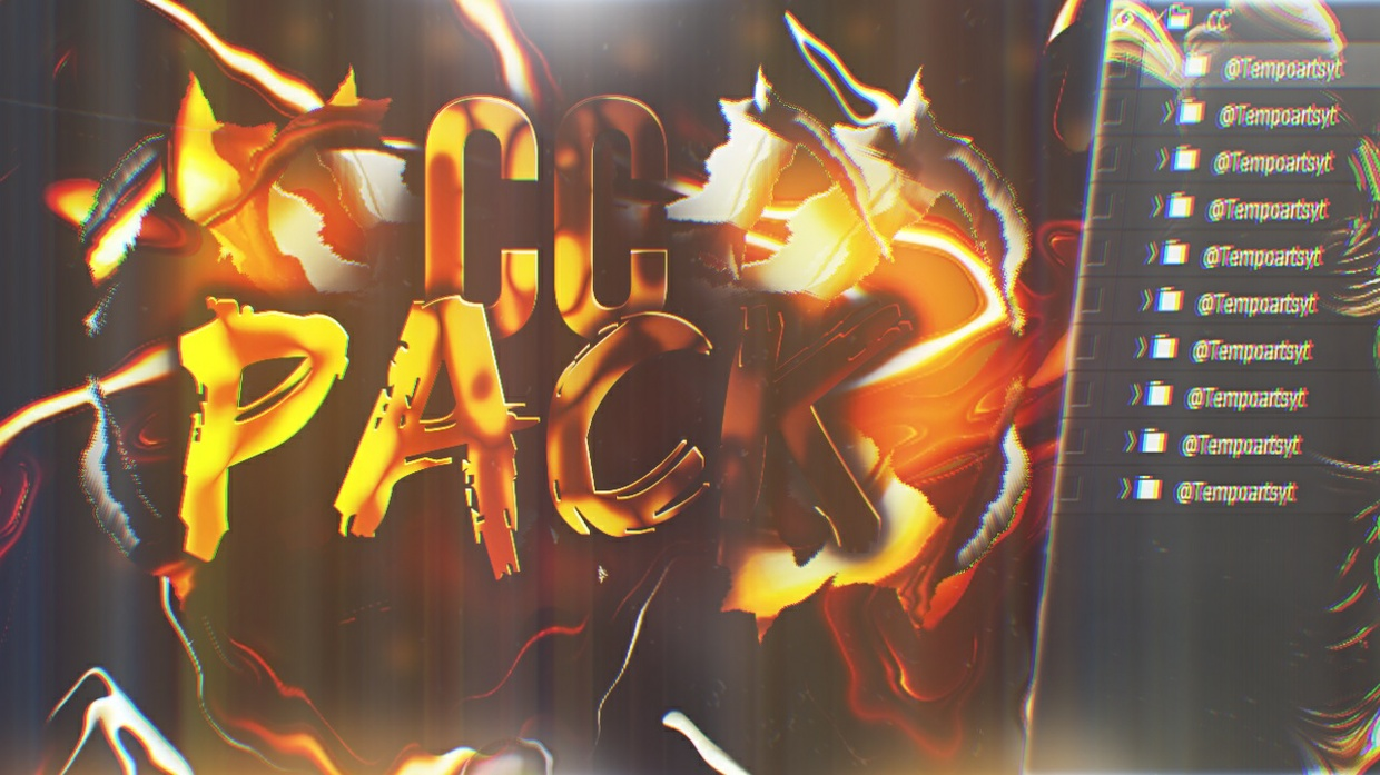 CC PACK!! - Graphics Pack 2017 - Tempoarts