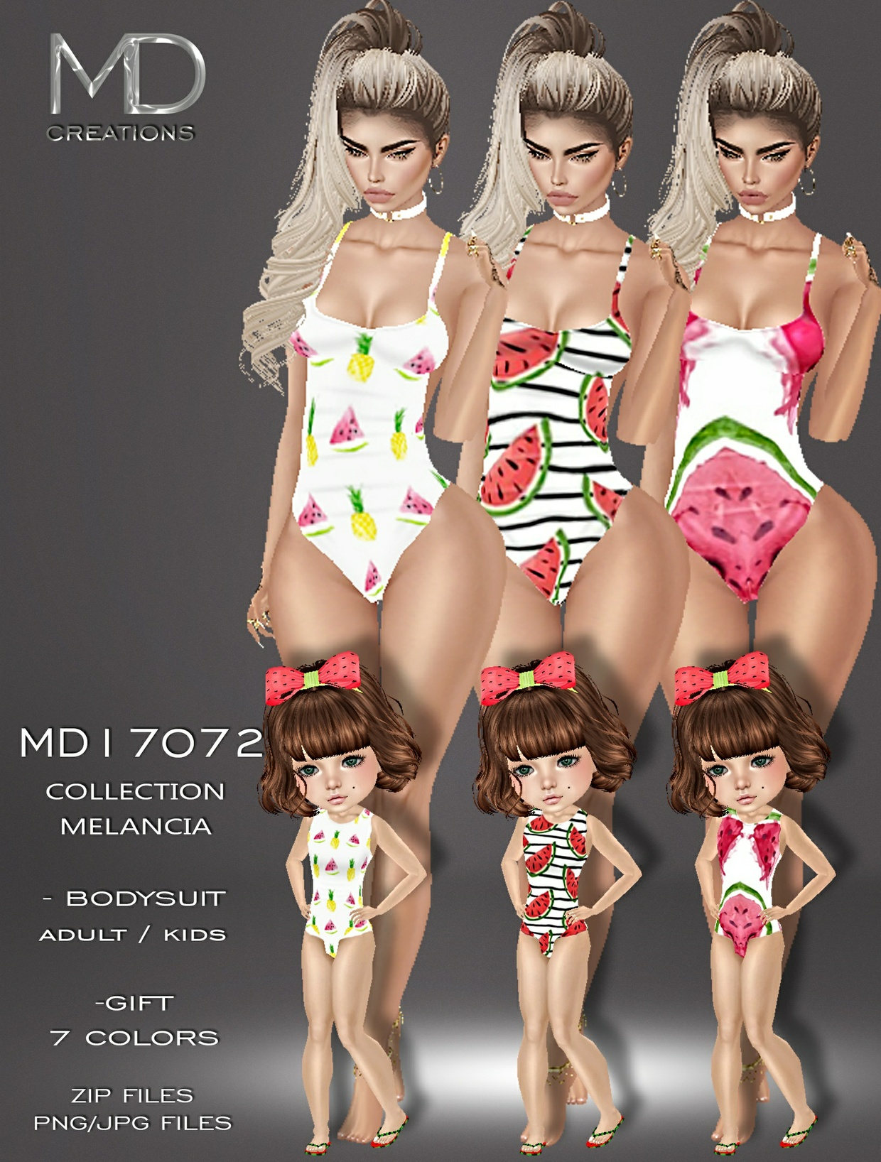 MD17072 - Collection Melancia II