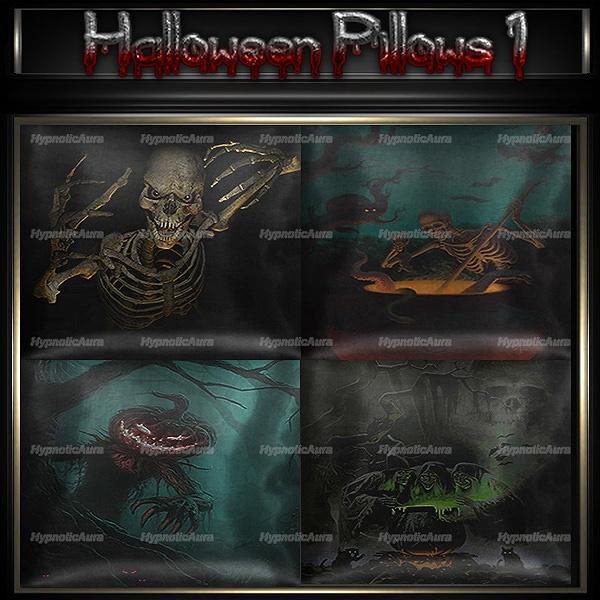A~HALLOWEEN PILLOWS 1-30 TEXTURES