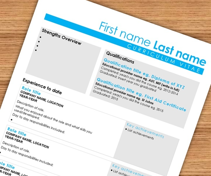 Smarty Pants CV: Template & Cheat-Sheet