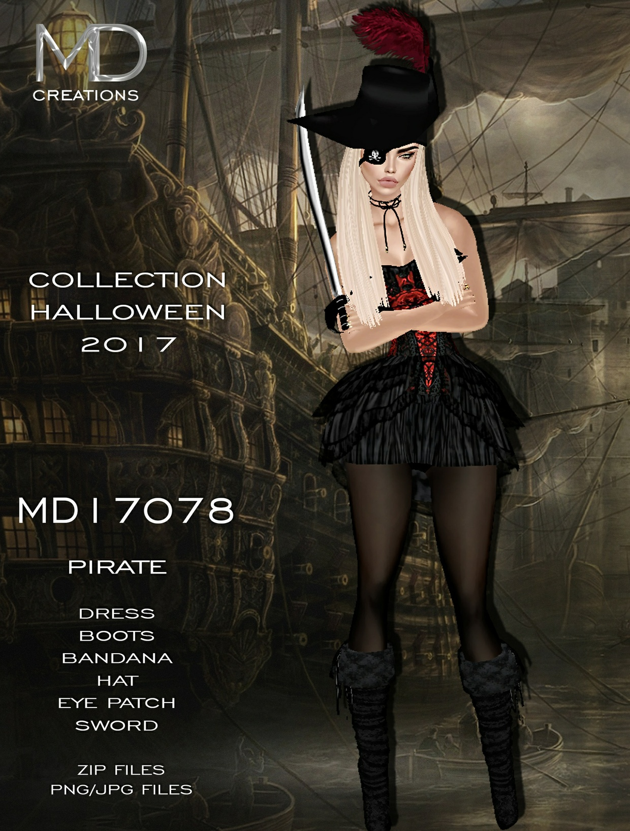 MD17078 - Halloween 2017