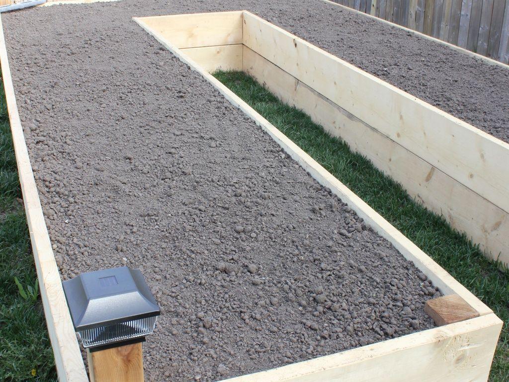 U Shaped Raised Garden Bed Drawing Amp Rendering