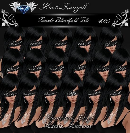 Female Blindfold File