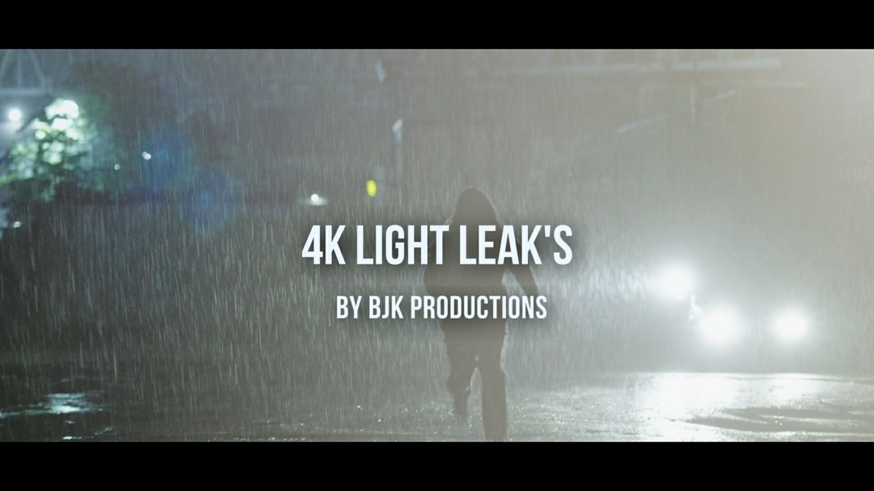 20+ Stunning 4k Light Leaks!