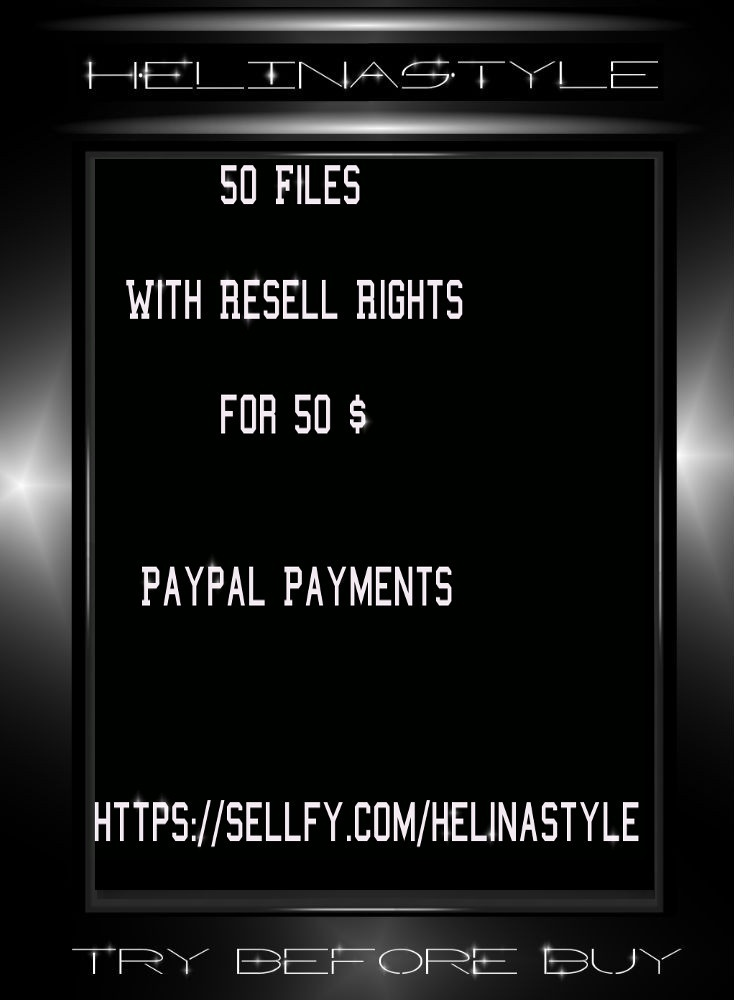 RESELL RIGHTS