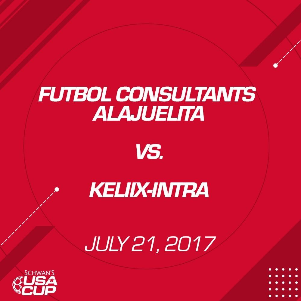Boys U13 Gold - July 21, 2017 - Futbol Consultants Alajuelita V. Keliix-Intra 1