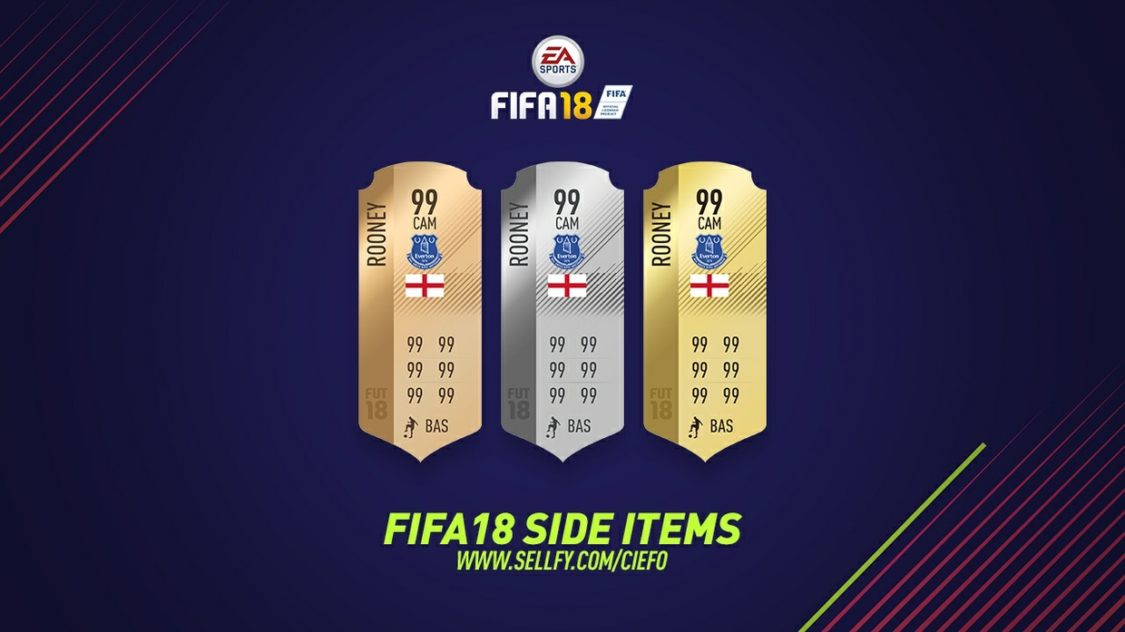 FIFA 18 SIDE ITEMS