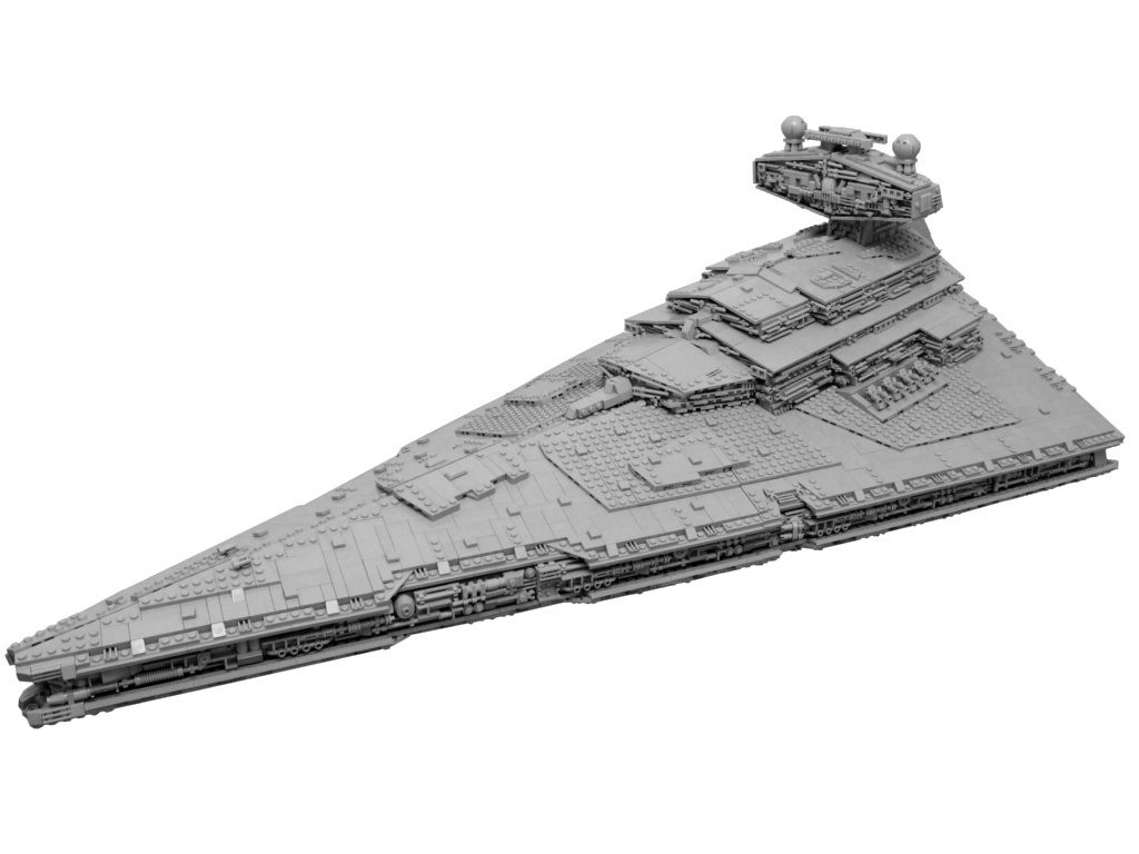 Moderately Sized Star Destroyer - PDF Instructions