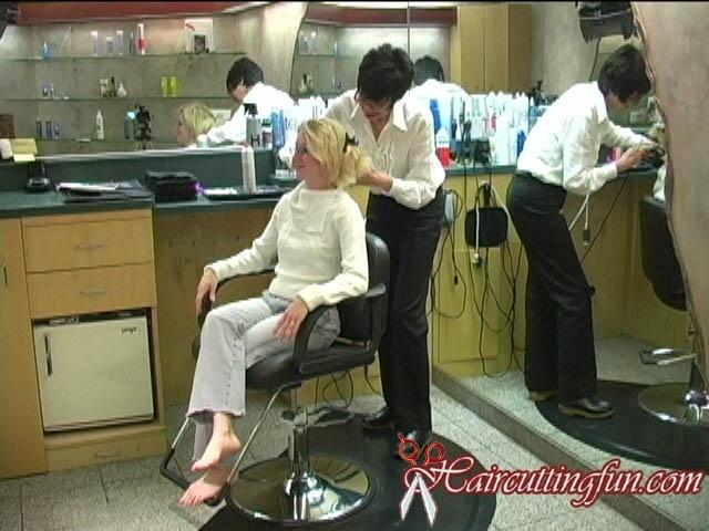 Jaclyn's Bob Haircut and Bare Feet - VOD Digital Video on Demand