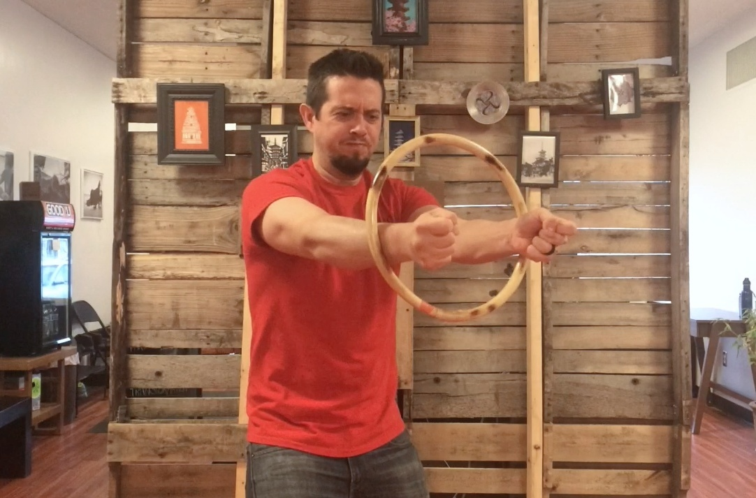Tutorial: Rattan Ring Short Power Drill