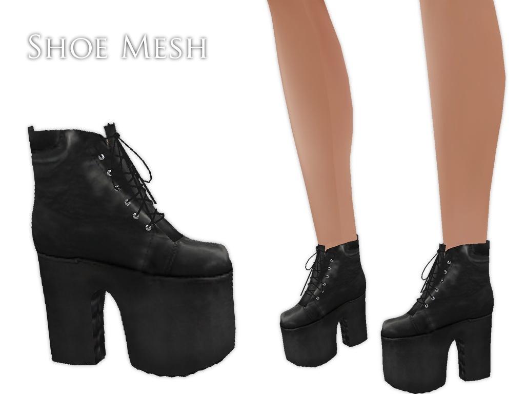 IMVU Mesh - Shoes - Munster