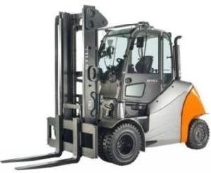 Still Diesel Forklift Truck RX70-60, RX70-70, RX70-80: 7341, 7342, 7343, 7344 Parts Manual