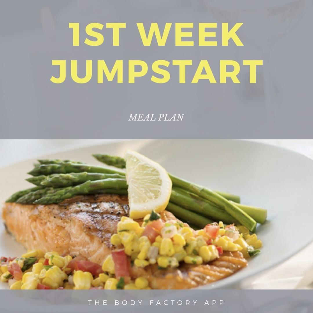 1ST WEEK JUMPSTART