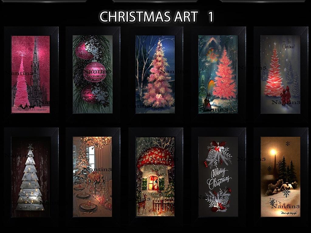 CHRISTMAS ART 1