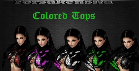 Colored Tops