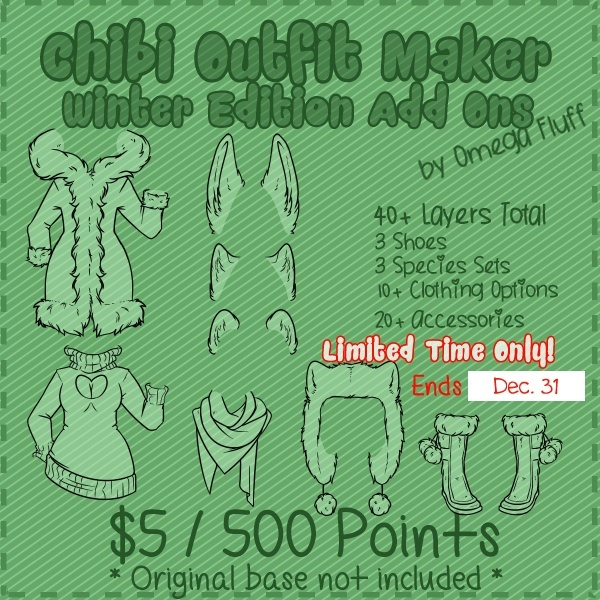 Chibi Outfit Maker Winter Edition Add Ons