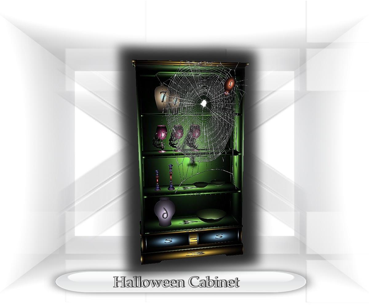 Halloween Cabinet