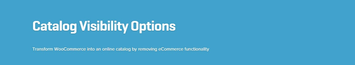 WooCommerce Catalog Visibility Options 2.8.1 Extension