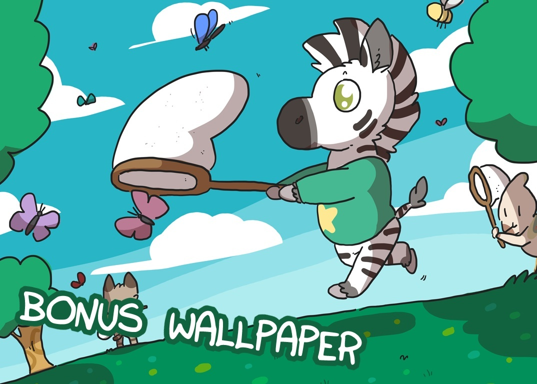 Zebra Crossing #3 PDF & Wallpaper Bundle