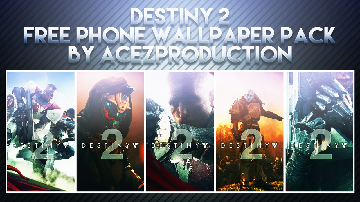 Destiny 2 - Phone Wallpaper Pack - Free Download