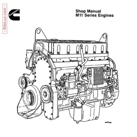 Cummins M11 Series Engines Shop Manual
