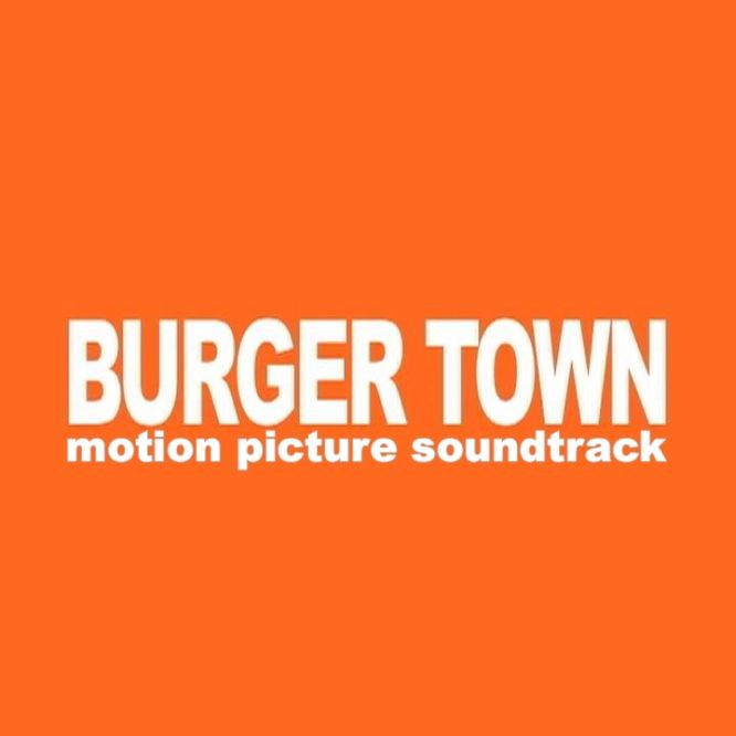 KWT 024. BURGER TOWN. MOTION PICTURE SOUNDTRACK by SPACE HUNTER NEBULA M