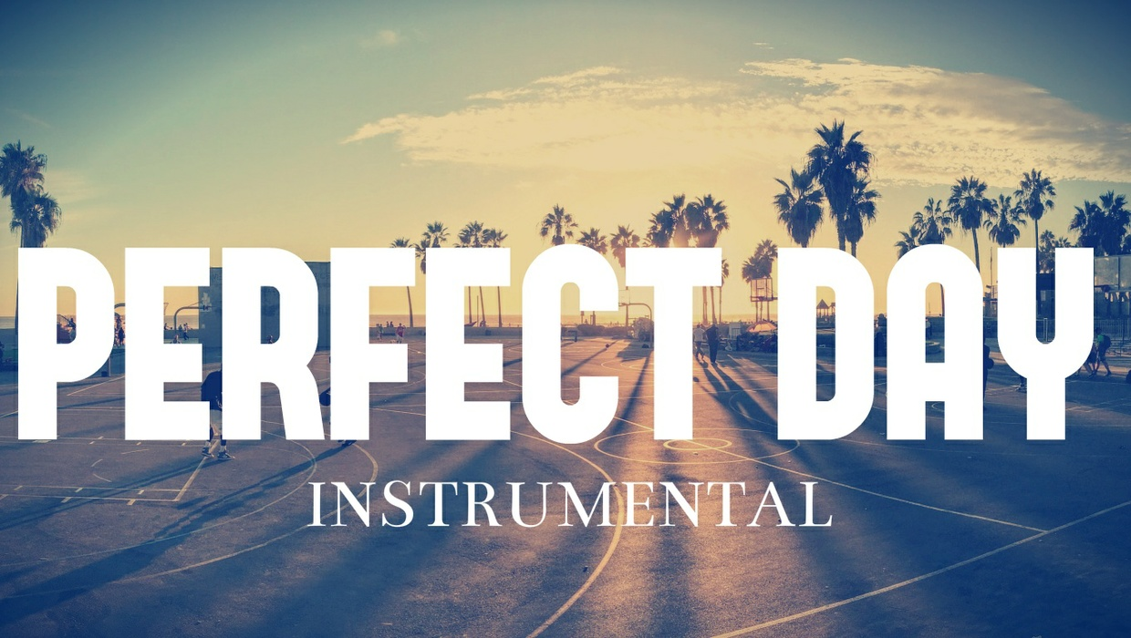 """PERFECT DAY""  Piano Old School Type Hip Hop Rap Beat Instrumental"