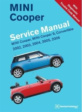 MINI Cooper 2002 – 2006 Service Manual