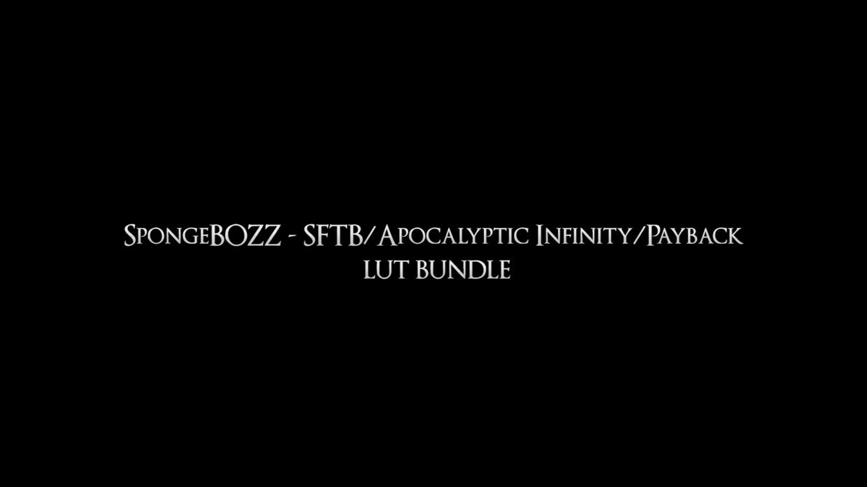 "SpongeBOZZ - SFTB/Apocalyptic Infinity/Payback ""LUT BUNDLE"""
