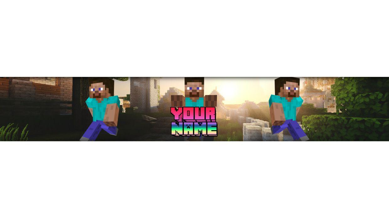Example #1 Minecraft Banner