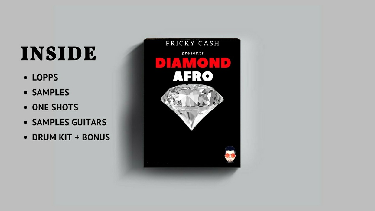 DIAMOND - EXCLUSIVE  AFRO DRUM KIT - SAMPLES - ONE SHOTS + BONUS