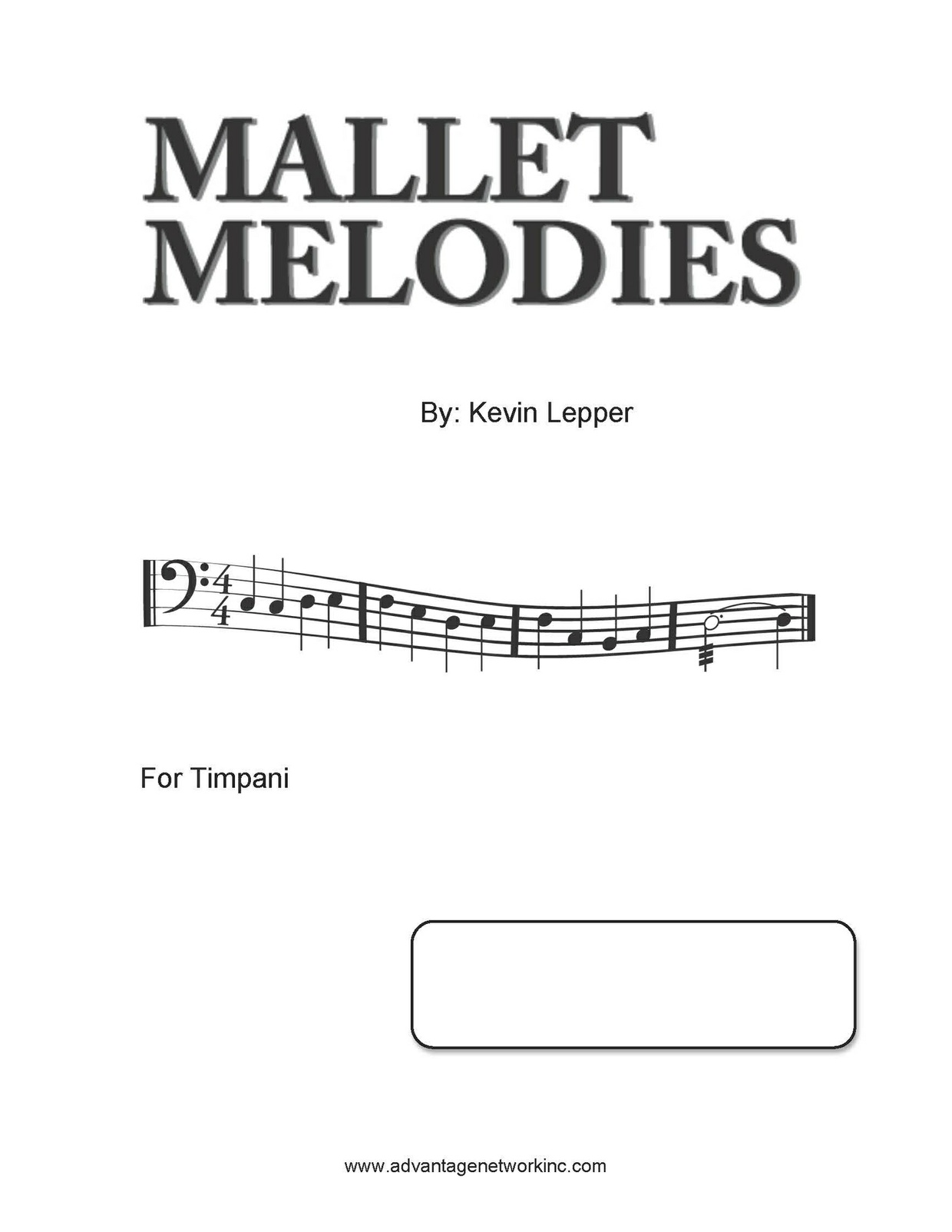 Mallet Melodies for Timpani
