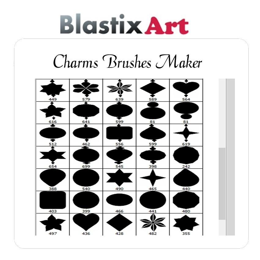 Charm Maker Brushes
