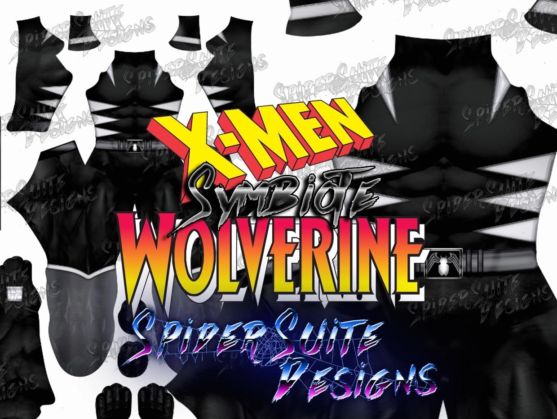 Symbiote Wolverine 2017 Pattern
