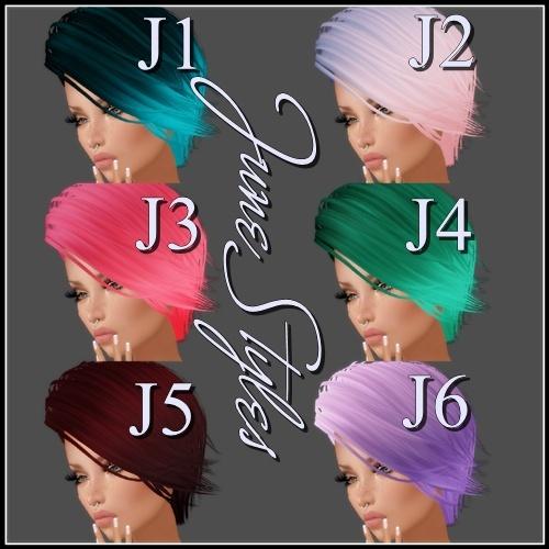 June Styles - Hair Textures