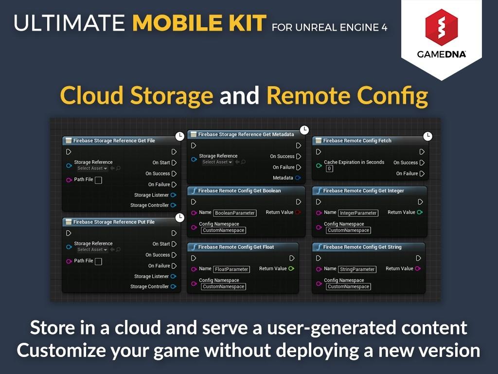 Ultimate Mobile Kit Firebase Plugin for UE4