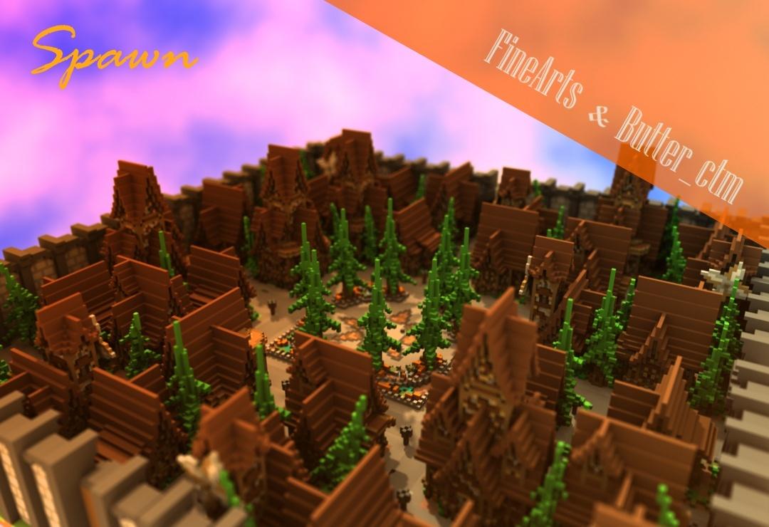 [Minecraft] City Spawn