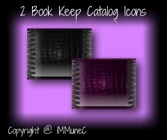 2 Book Keep Catalog Icons