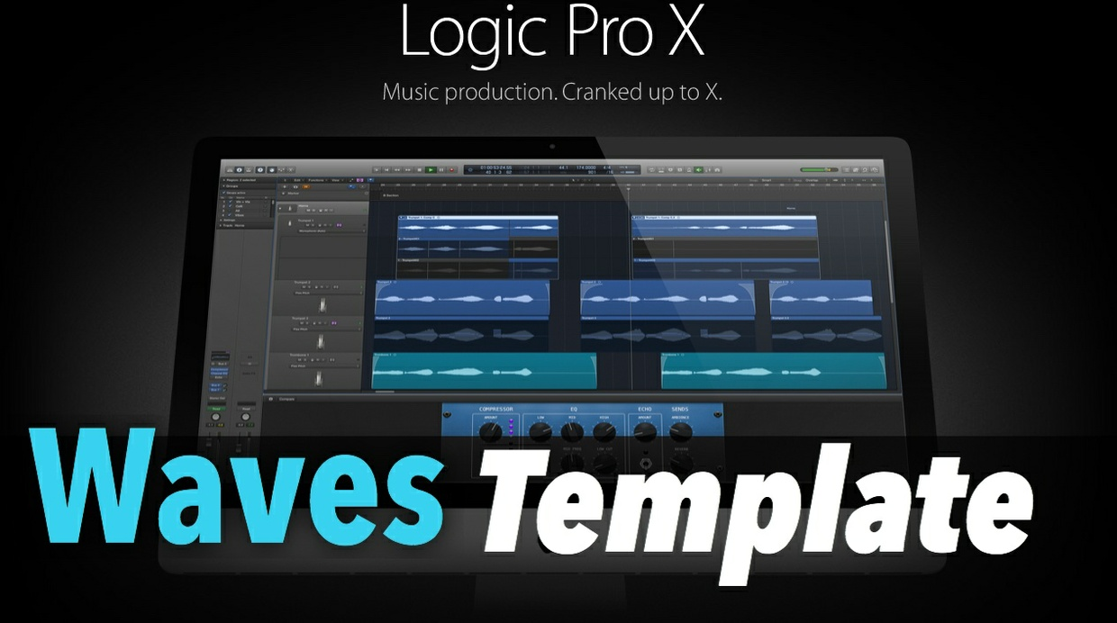 Logic Pro X: WAVES Template