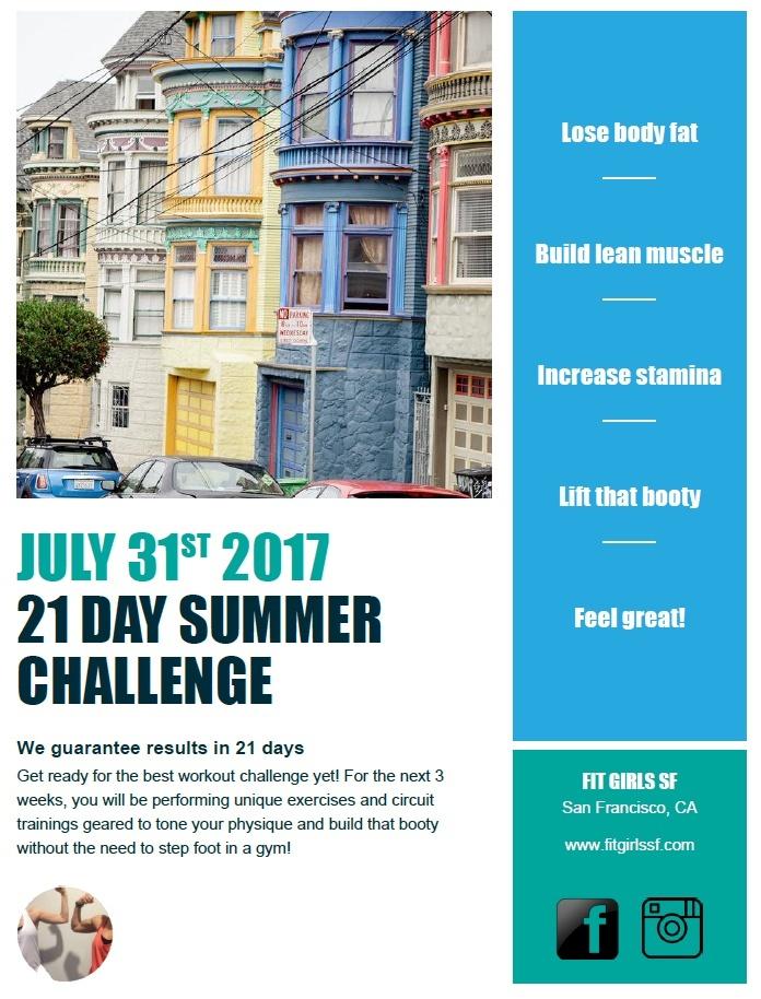 21 Day Summer Challenge