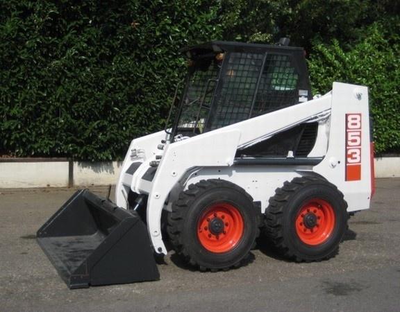 Bobcat 853, 853H Skid Steer Loader Service Repair Workshop Manual DOWNLOAD 6724012 (4-95)