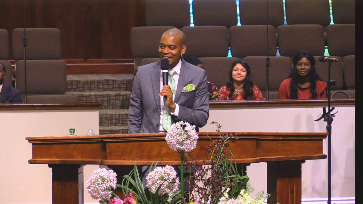 "Rev. Lawrence Warfield 07-23-17pm "" Praise Ye The Lord "" MP4"