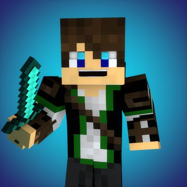Basic Minecraft Youtube Profile Picture