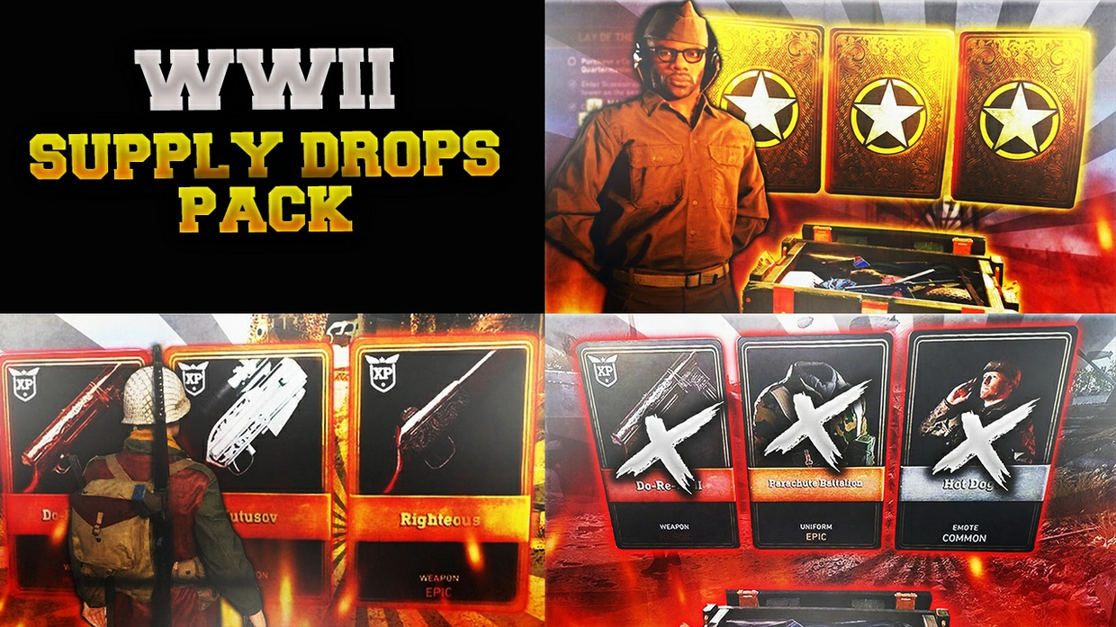 WWII Supply Drop Thumbnail Pack