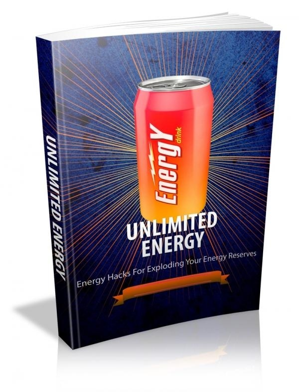 "Unlimited Energy multi-pack - Eliminate the 3:00 ""Zombie Effect"""