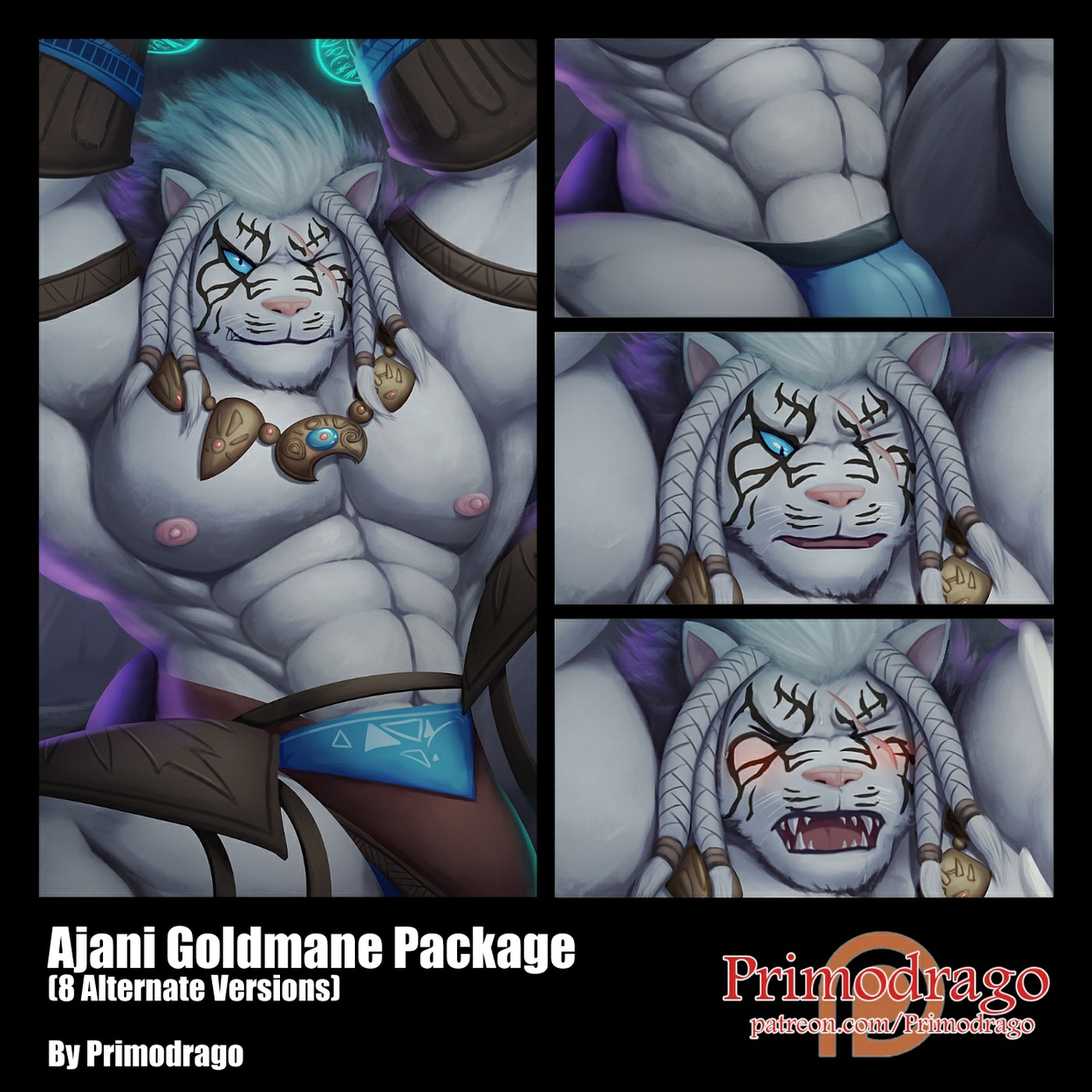 Ajani Goldmane Package