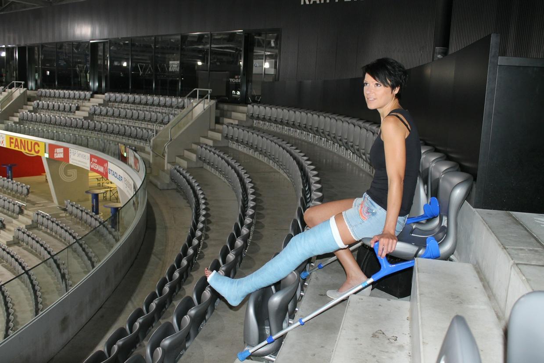 Stadionbesuch mit Samantha