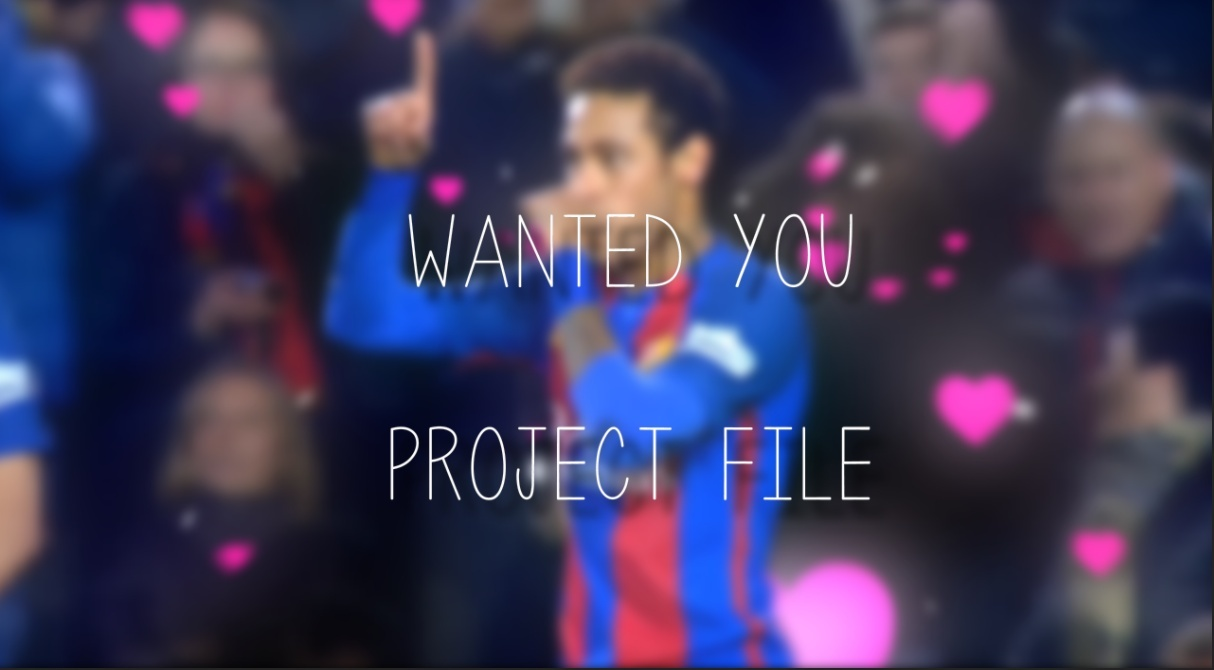 Wanted You - Project File