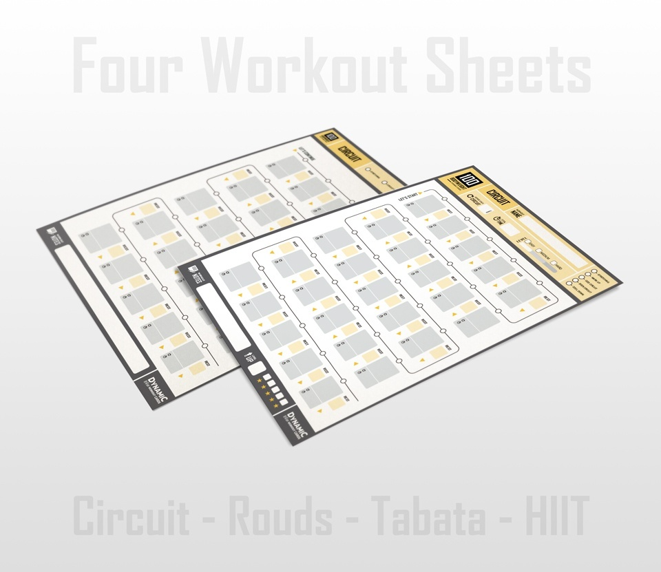 100 Bodyweight Cards + DW Cards / Personal License -  PDF